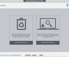 iCare Data Recovery Free - Deleted File Recovery and Advanced File Recovery scan modes