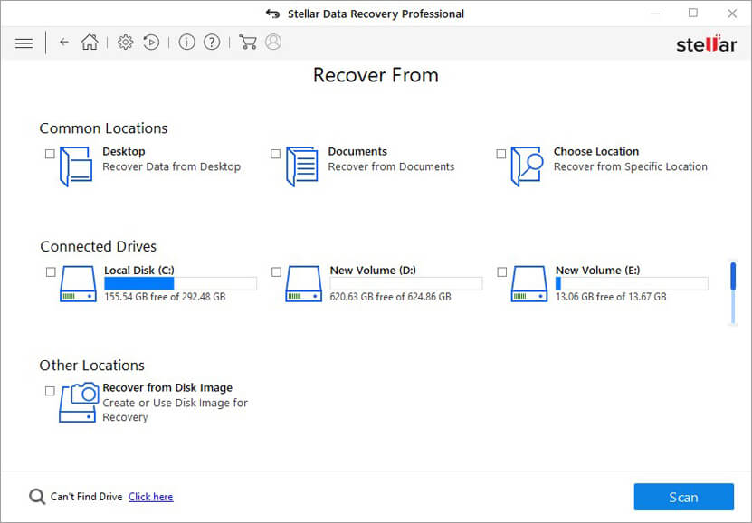 Stellar Data Recovery Professional Can Recover All File Types Deleted From Windows