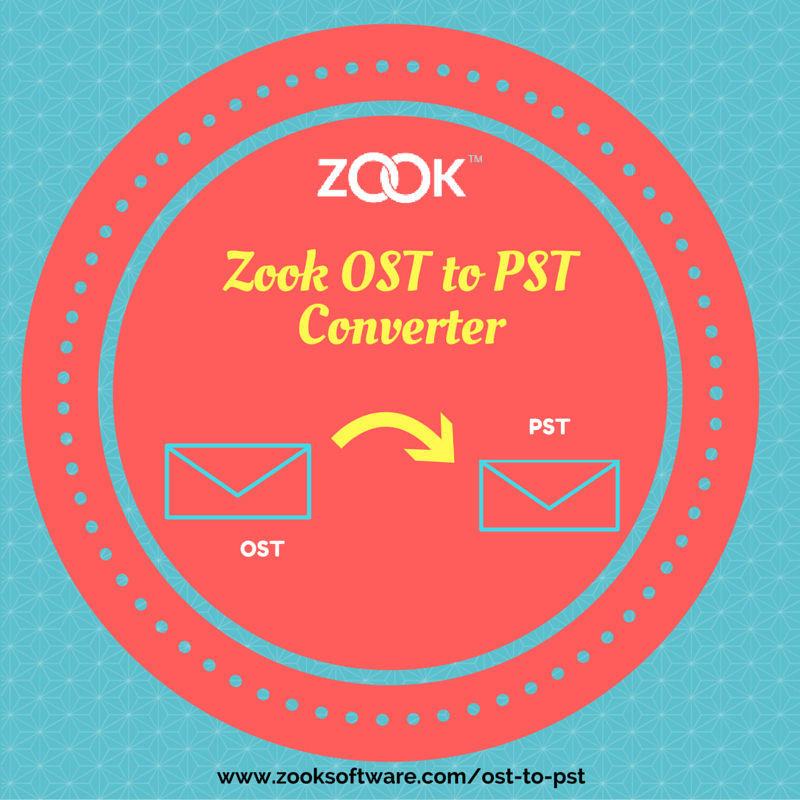ZooK OST to PST Converter Software to Convert OST to PST
