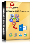 MailsDaddy MBOX to PST Converter Software Box