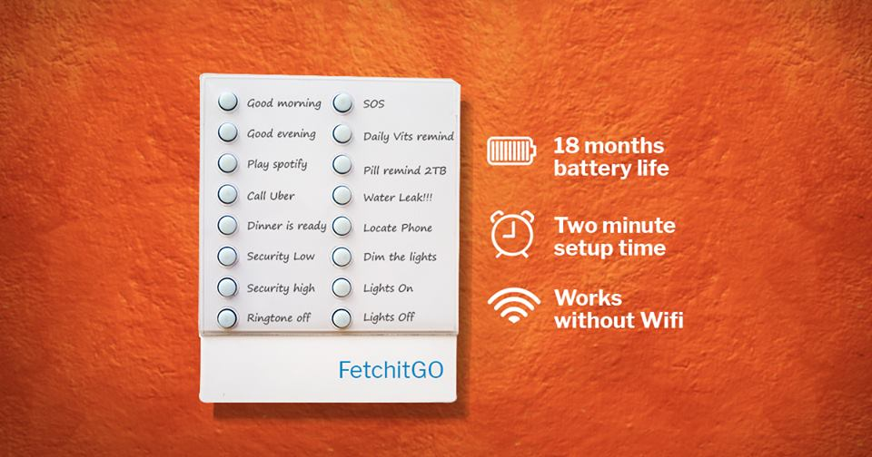 FetchitGo Smart IoT Remote Controller Device