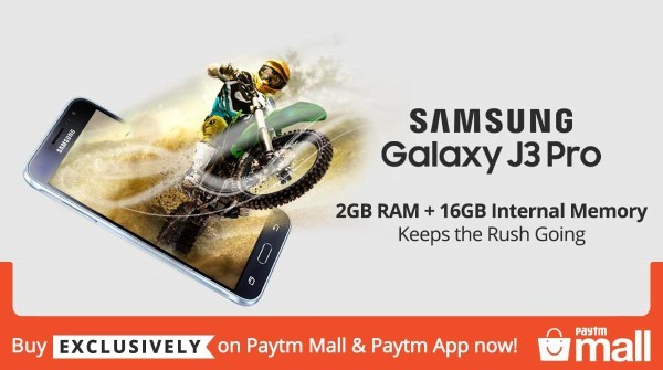 Samsung Galaxy J3 Pro - 2GB RAM + 16GB Internal Memory - Buy Exclusively on Paytm Mall & Paytm App