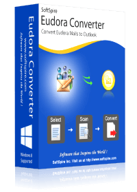 Eudora Converter - Import MBX files to PST, MBOX, HTML, EML/EMLX, PDF and more