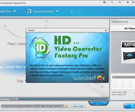 Wonderfox HD Video Converter Factory Pro screenshot