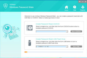 UUkeys Windows Password Mate screenshot