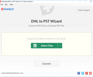 DataHelp EML to PST Converter - Convert EML File to Outlook PST File