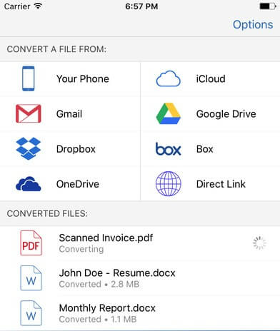 PDF to Word Converter App by Cometdocs