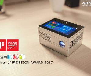 Aiptek iBeamBLOCK Modular HD Projector - Winner of iF DESIGN AWARD 2017