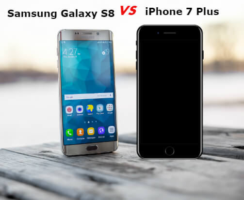Best Smartphone - Samsung Galaxy S8 vs. iPhone 7 Plus