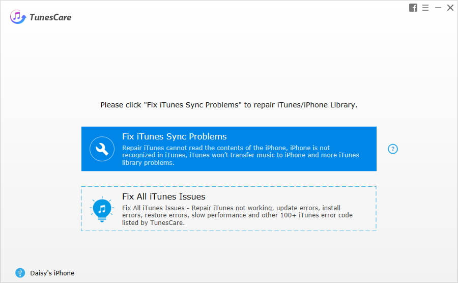 Tenorshare TunesCare – Fix iTunes Sync Problems and Fix All iTunes Issues
