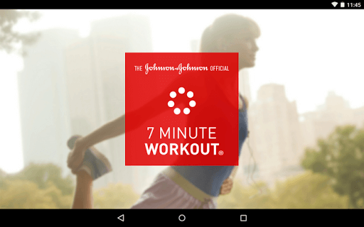 Johnson & Johnson Official 7 Minute Workout - Health & Fitness App - screenshot image