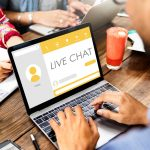 Live Chat Message Communication