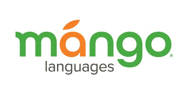 Mango Languages logo - Mango Languages language learning resources help patrons, students, employees, and individuals learn 70+ languages online and on-the-go