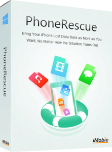 PhoneRescue for Windows – iOS Data Recovery Software Boxshot