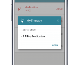 MyTherapy Medication Reminder App