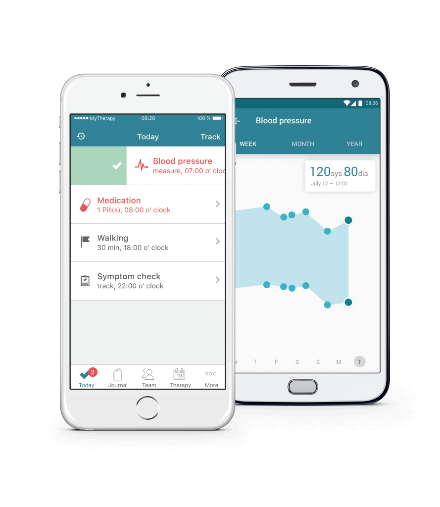 MyTherapy Medication Reminder iOS, Android App