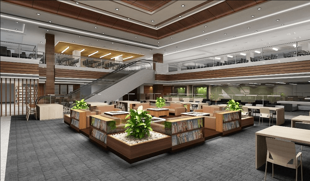Amity Business School Noida Library