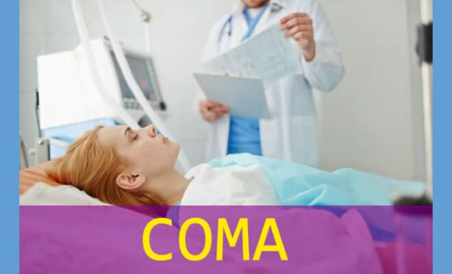 Coma Unconscious Unresponsive Woman in Hospital Bed - Coma Complications That Caregivers Need to Watch Out For