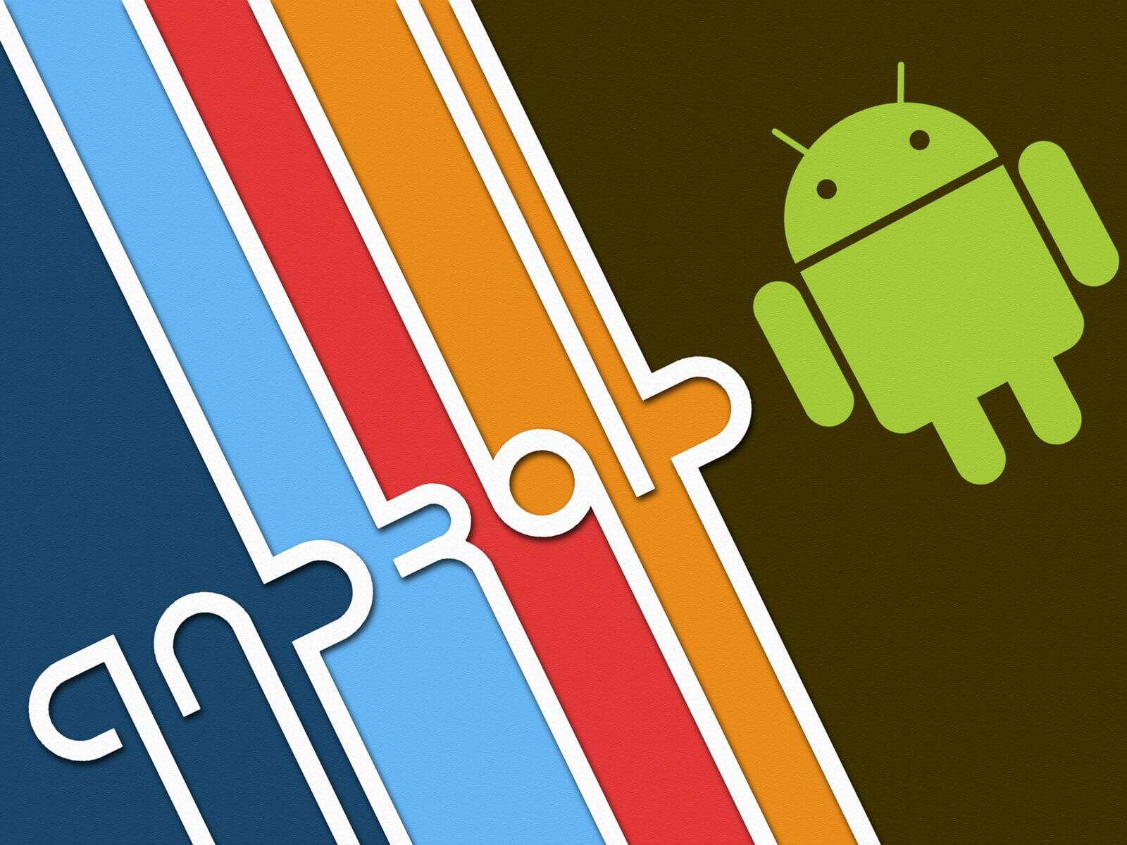 Android Operating System HD Wallpaper Bauhaus Influenced Design