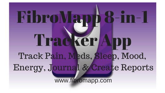 FibroMapp - Chronic Pain Management App - Pain Tracker App - Track Pain, Medicines, Sleep Schedules, Mood, Energy, Journal and Create Reports