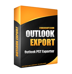 Backup Outlook Email Messages 2010 to PDF, EML, MBOX, MSG, EMLX, VCF and ICS Files with Outlook Converter Software 1