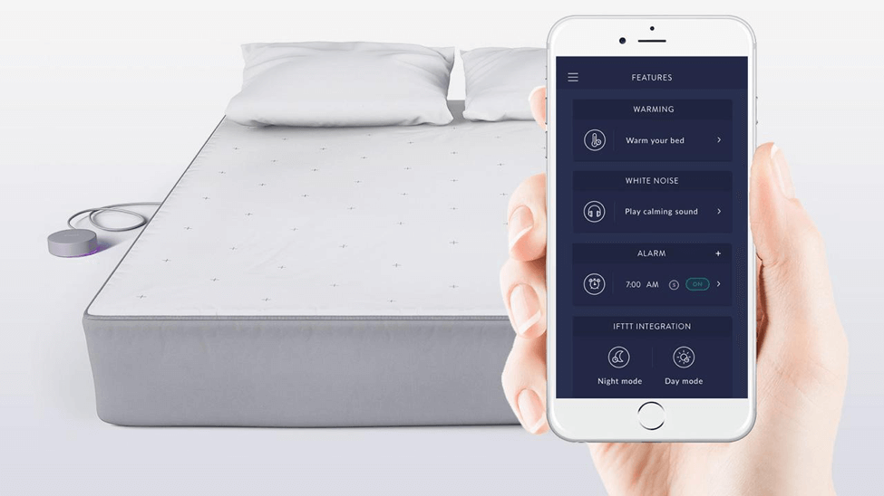 Eight Sleep Tracker - Best Mattress Apps for People Who Suffer Back Pain