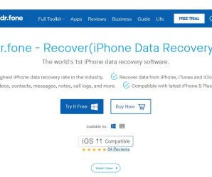 dr.fone - Recover (iPhone Data Recovery Software)