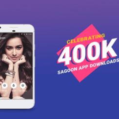 Sagoon App celebrating 400k downloads