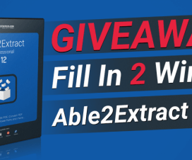 Able2Extract Professional 12 Giveaway Featured Image