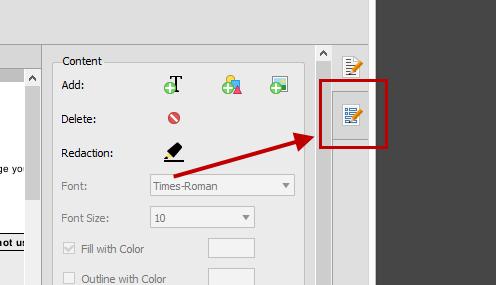 PDF Form Editor Tab