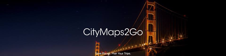 City Maps 2 Go iOS App. Save Places. Plan Your Trips.