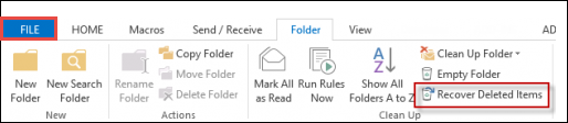Are Deleted Items Gone Forever in Outlook Account? Recover Deleted Items