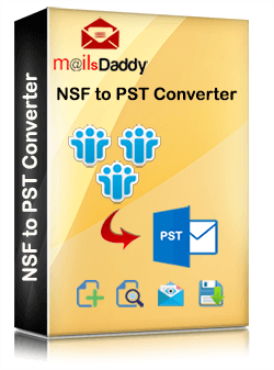 MailsDaddy NSF to PST Converter