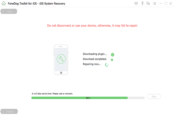 If your iPad is disabled use FoneDog's iOS System Recovery Software to repair your disabled iPad