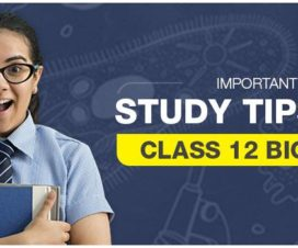 Important Study Tips For Class 12 Biology