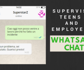 Supervise Teens and Employees WhatsApp Chat