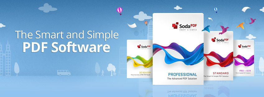 Soda PDF - The Smart and Simple PDF Software