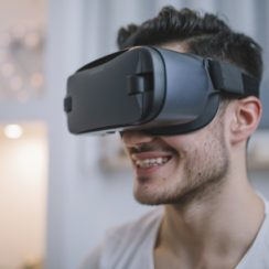 Samsung Gear VR - Virtual Reality Headset. An app, smartphone and a VR headset - The trio of hope for Low vision