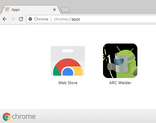 Chrome Apps srcset=