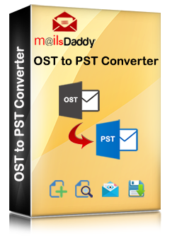 MailsDaddy OST to PST converter software