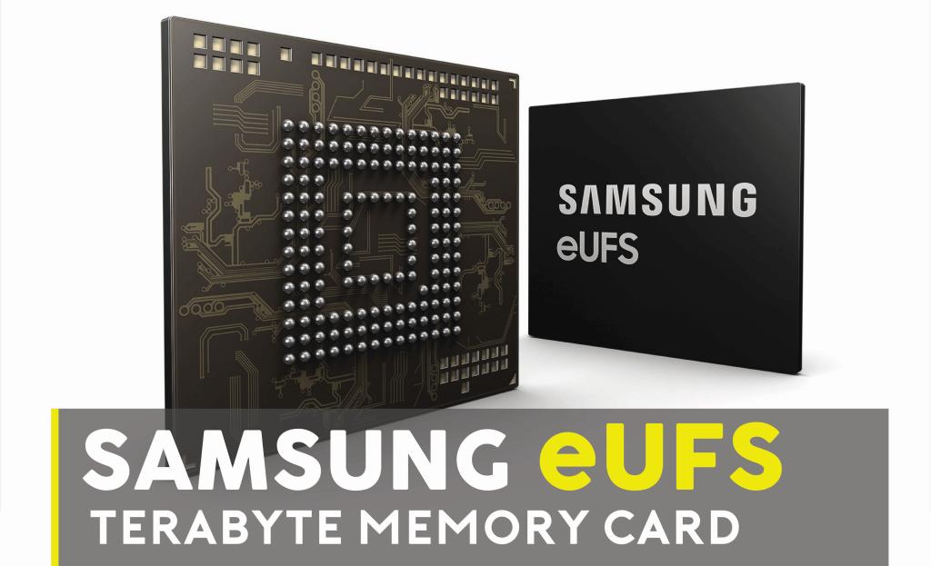 Samsung eUFS Terabyte Memory Card