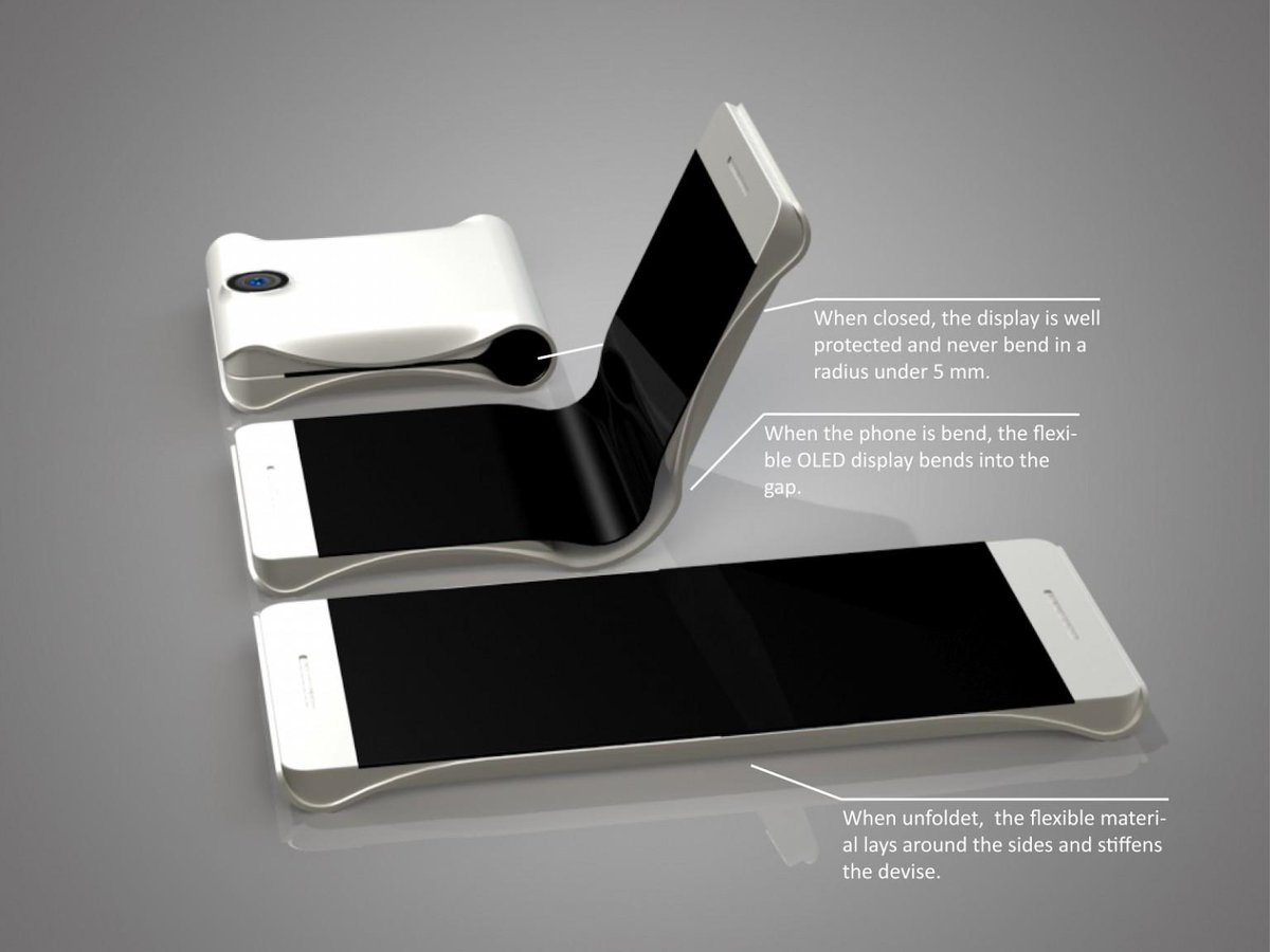 Samsung Smartphone with Foldable Screen