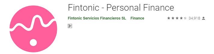 Fintonic - Personal Finance App
