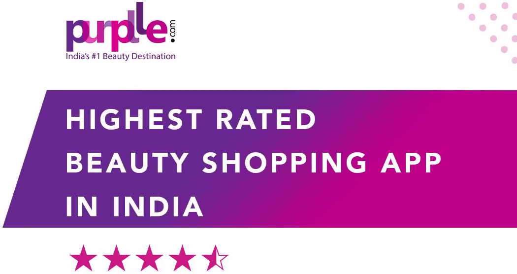 Purplle Highest Rated Beauty Shopping App in India