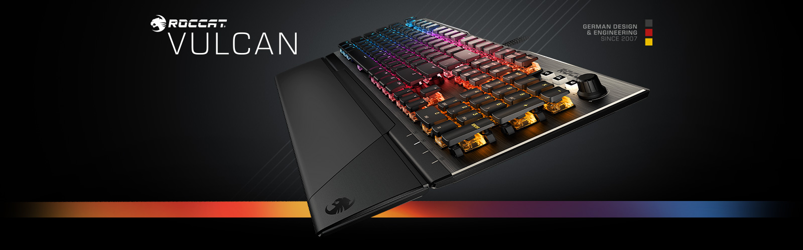 The Best Keyboards Of 2018 - ROCCAT Vulcan mechanical gaming keyboard