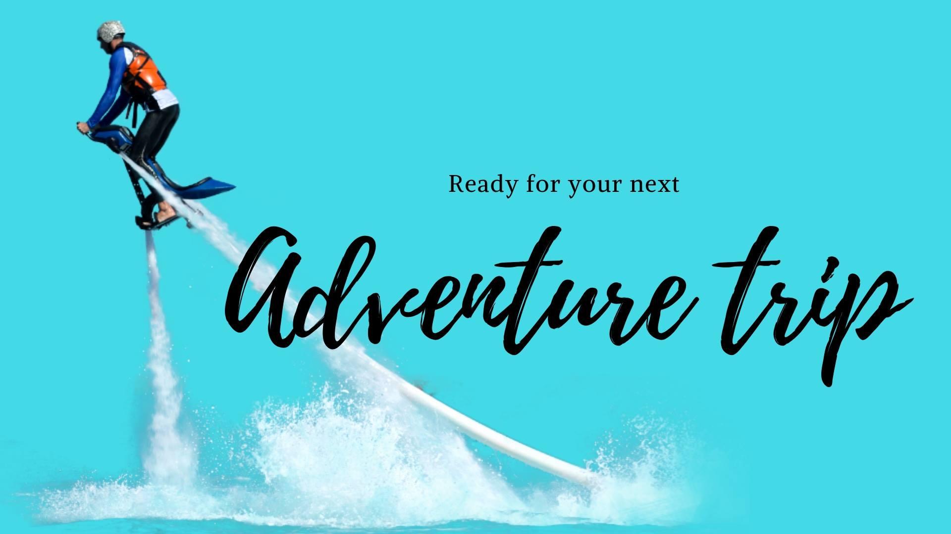 Zapata Flyboard : Best Sports Gadget for Next Adventure Trip