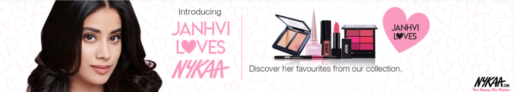 Janhvi Loves Nykaa: Buy Cosmetics Products & Beauty Products Online in India