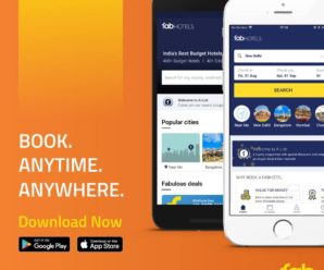 FabHotels Android App - Book Hotels Anytime Anywhere. Book a Hotel in just three simple steps through FabHotels Android App!