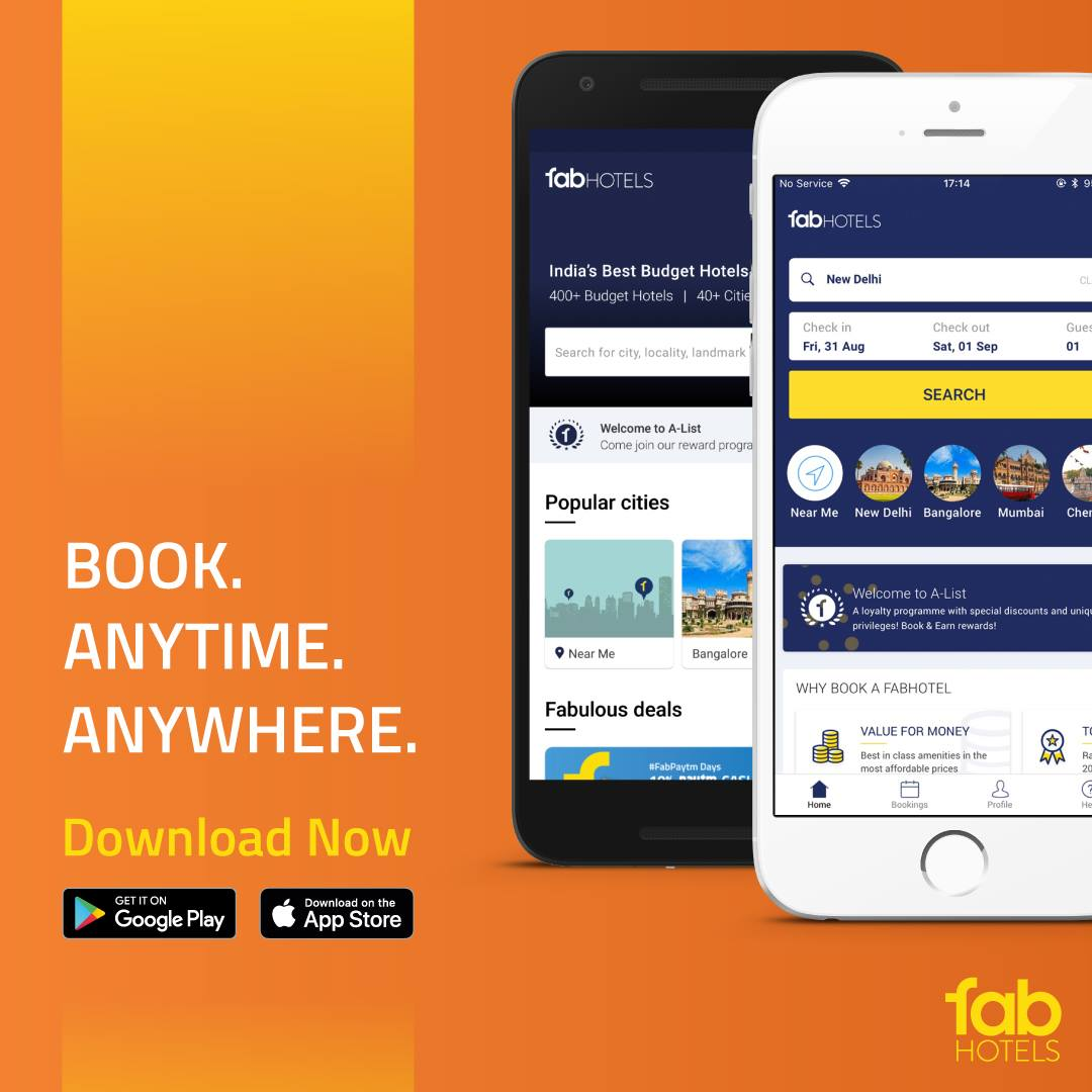 Top 7 User Friendly Features Of The New Fabhotels Android App
