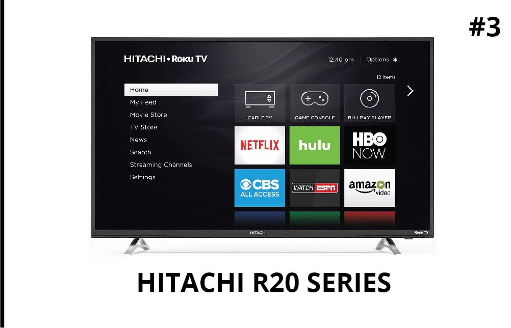 Hitachi R20-Series 32-Inch Class HD Smart LED TV